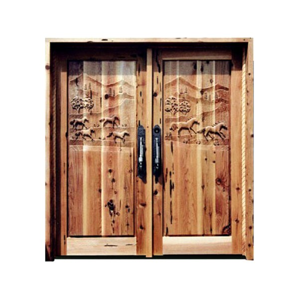 Hand-Carved-Horse-Door-6022HC