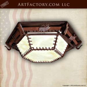Wildlife Style Ceiling Light Fixture