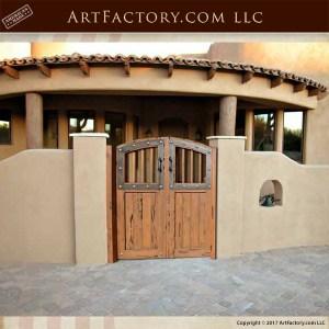 courtyard entrance gate