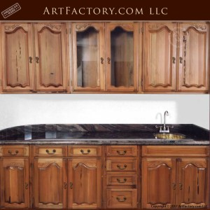 custom wooden kitchen cabinets