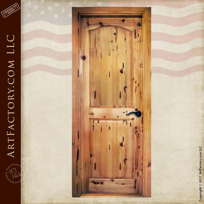 Custom Wood Interior Door: Inspired by Trim Castle, Ireland