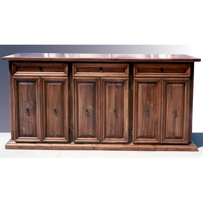 Side Board Solid Wood Buffet Table