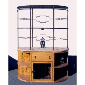 Buffet Hutch Wine Display Cabinet