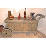 Tea Cart Buffett Serving Cart 18th Cen