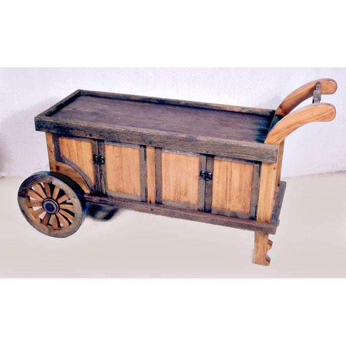Sideboard Buffet Serving Cart 18th Cen