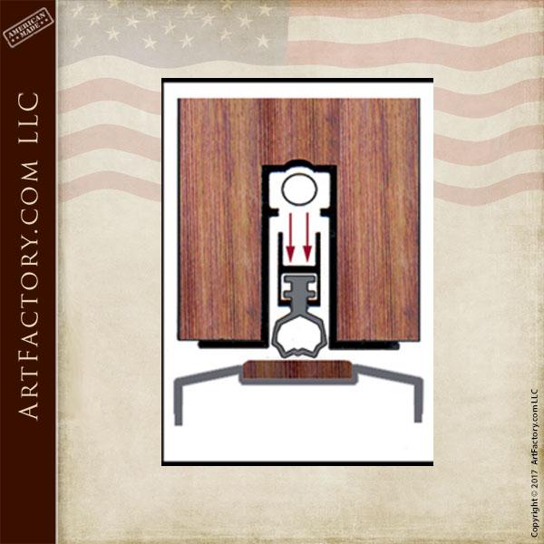 threshold mechanical door sweep