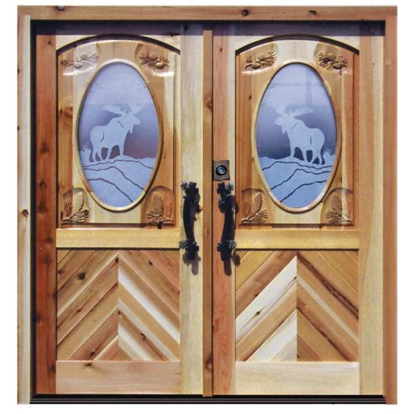 custom etched glass doors