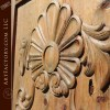 Baroque Rose hand carved door