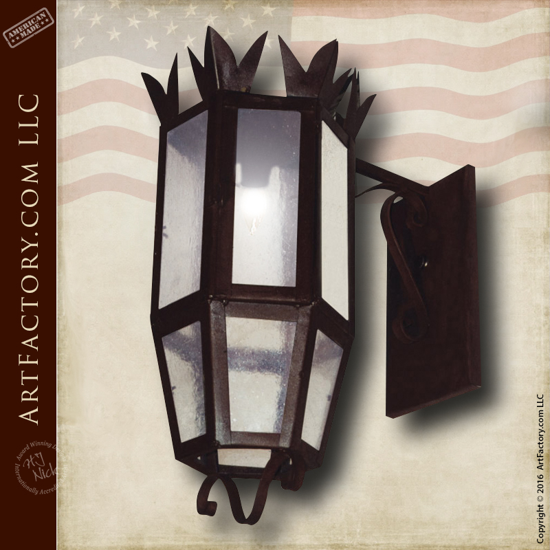 Hand Forged Wall Sconce