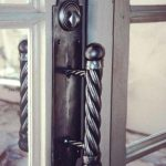 hand carved French style door