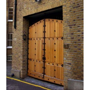 Garage Door Roll Up Or Carriage Hinged Solid Cedar
