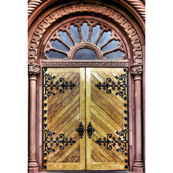 Entrance-Door-Smithsonian-Castle-1982CDT