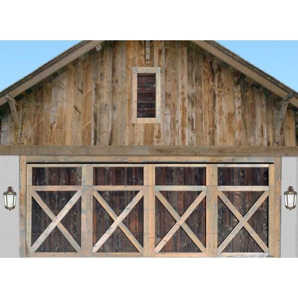 Cross buck garage doors log home garage doors rustic for Garage cros agde