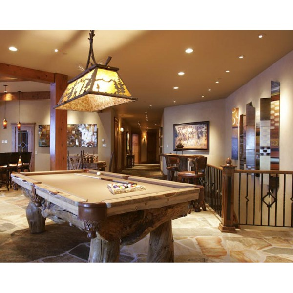 Custom Pool Table Luxury Cabin Pool Tables