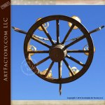 Custom Chandelier Winchester Rifles Antique Wagon Wheel