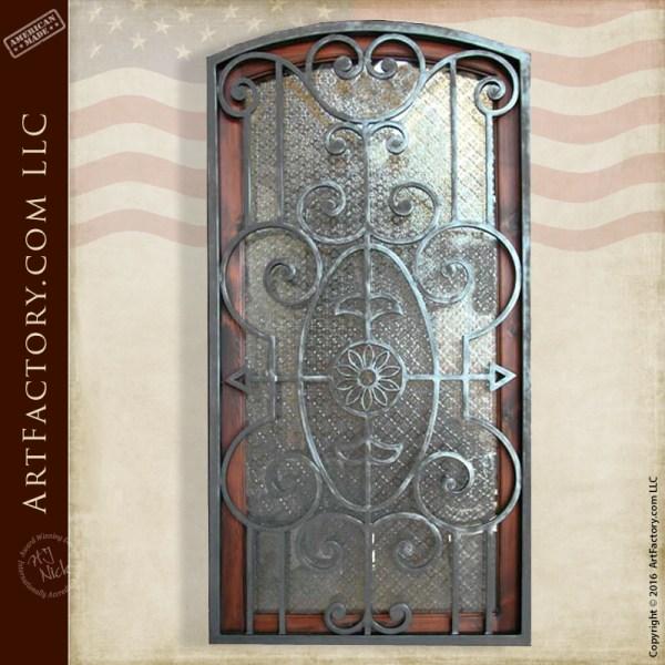 Decorative Security Door Grill