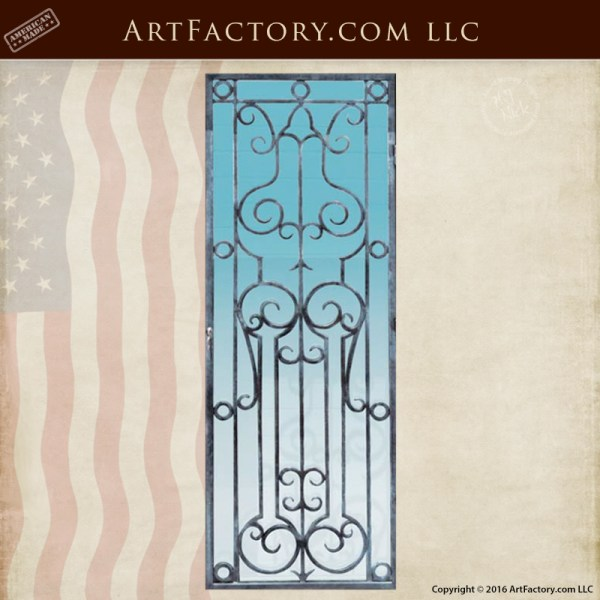 Hand Forged Decorative Grill Custom Iron Panels