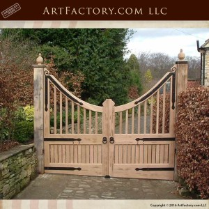 Inverted Arch Estate Security Gates