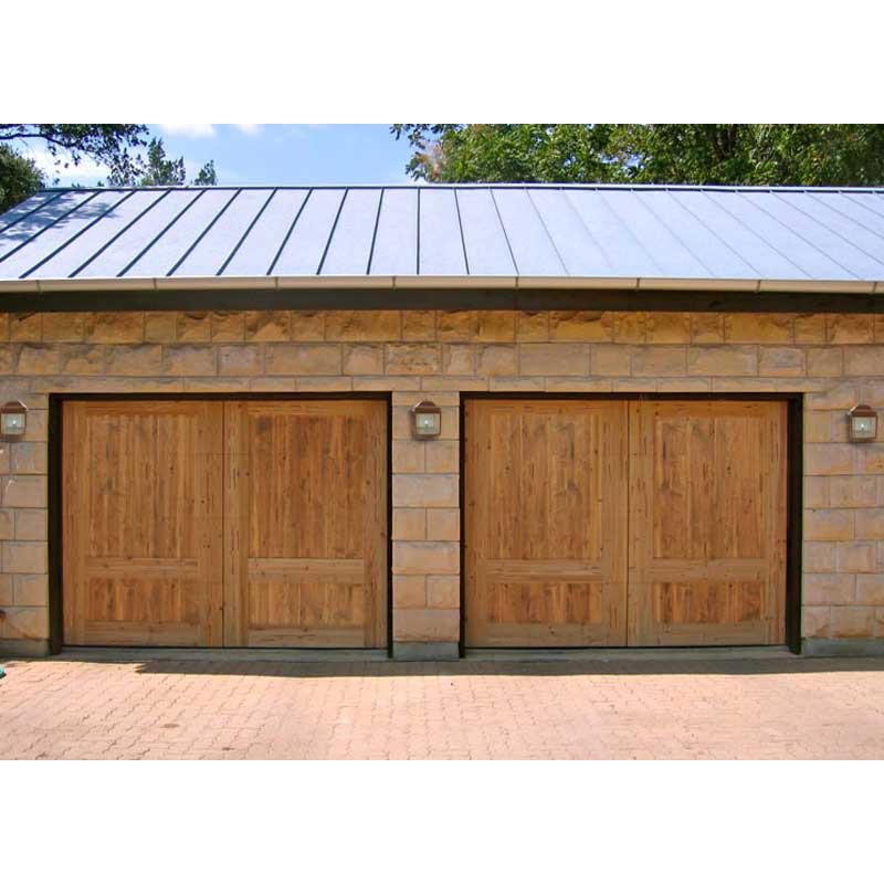 ... Garage Doors Solid Cedar Matched To Entry Doors