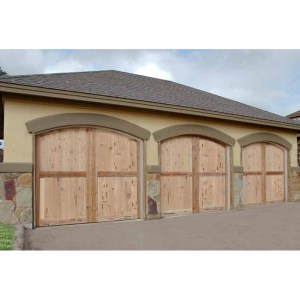 Garage Doors Matched To Entry Doors
