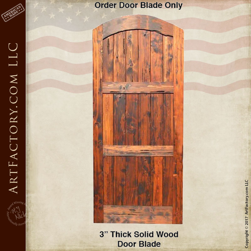 Rustic Garden Gate: Custom Handcrafted Arched Wooden Gates U2013 GG400