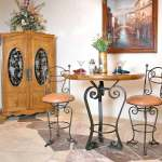 Bar Stool Hand Forged Bar Stools Bistro Table