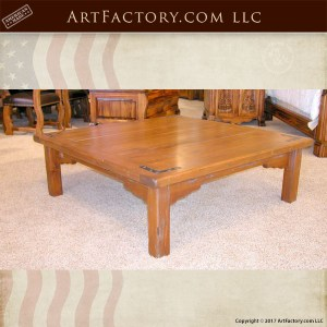 custom wooden coffee table
