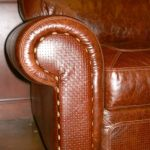 Leather chairs with Full-grain leather