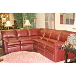 Sofa Motion Reclining Top Grain Leather Hardwood Frame
