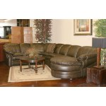 Sectional Full Grain Leather Handmade In USA Since 1913