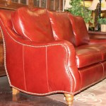 Red Sofa Custom Handcrafted In America