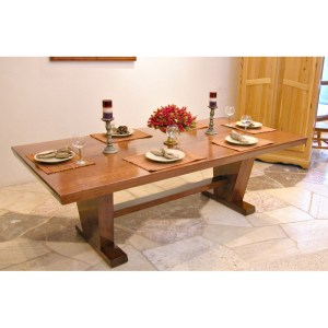 Solid Cherry Contemporary Custom Made Dining Table