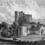 Door Saltwood Castle 12th Cen kent England