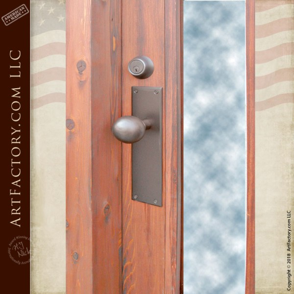 custom craftsman door pull
