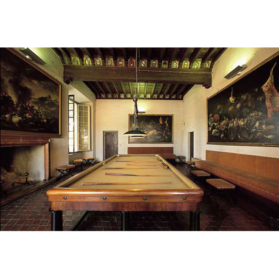 Pool Table Rocca Sanvitale 15th Cen Italy