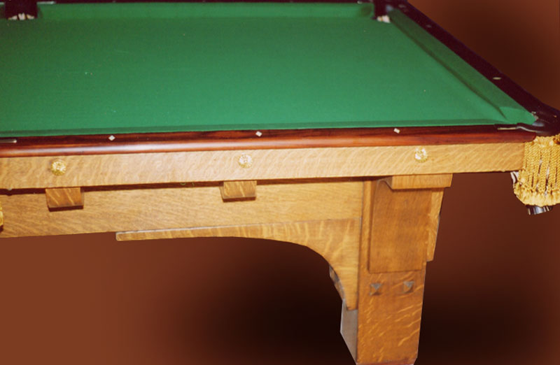 Attirant Pool Table U2013 Arts U0026 Craftsman Pool Table 1900 America U2013 CPT0536