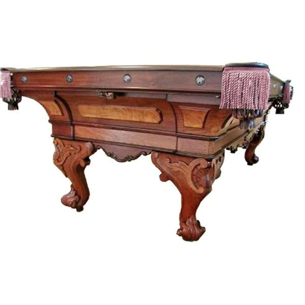 Pool Table Jacob Strahle Pool Table Cir 1890