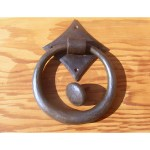 Large Pull Ring - Hand Forged Iron Door Ring
