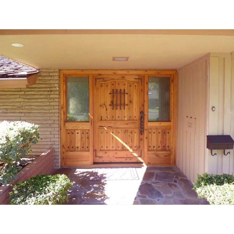 custom built grand entrance doors