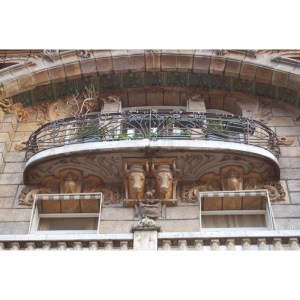 Balcony - Design From Antiquity 17th Cen French