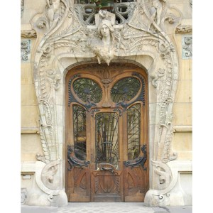 Art Nouveau Door Design From Antiquity