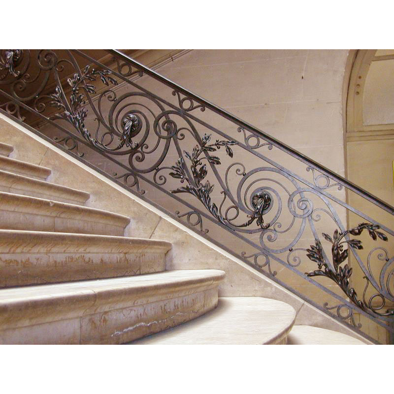Delightful ... Stair Railing   Stair Wrought Iron Rails
