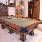 Cue Cabinet Matching Pool Cue Cabinet