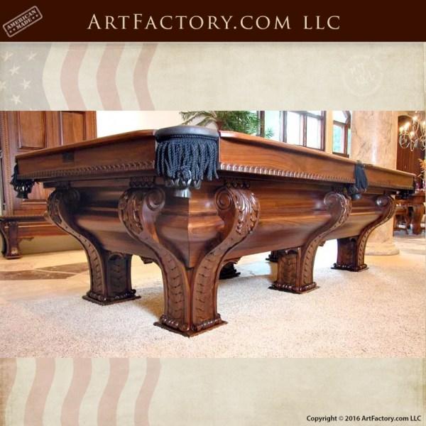 F X Ganters Pool Table Custom Pool Tables High End Pool Tables - High end pool table