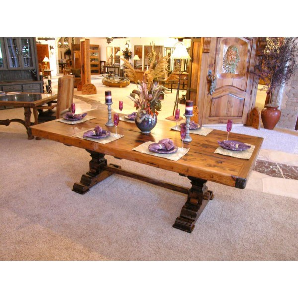 Dining Table - Trestle Dining Table