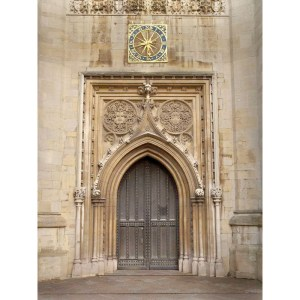 Church Doors From Historic Record