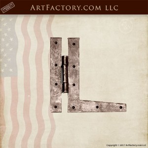 heavy duty iron hinge