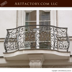Custom Wrought Iron Balcony