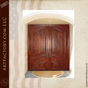 custom Victorian double doors