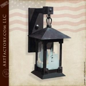 Craftsman Style Lantern Sconce
